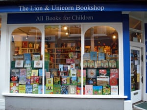 Bookshops: Lion & Unicorn Bookshop, Richmond