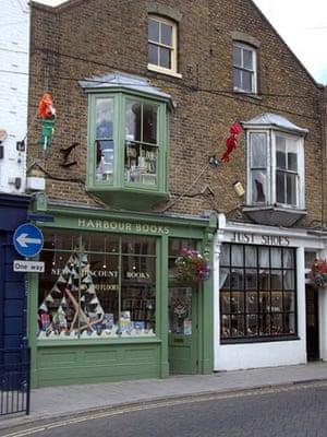Bookshops: Harbour Books, Whitstable