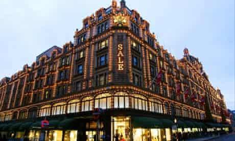 The Harrods department store