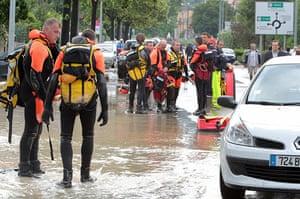 Flooding in France: Draguignan