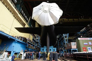 russian super sub: Severodvinsk submarine