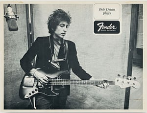 Fender gallery: Bob Dylan with Fender