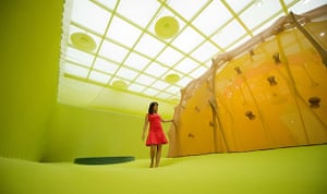 "Festival Brazil: Ernesto Neto ""The Edges of The World"" exhibition Hayward Gallery"