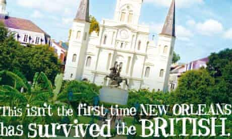 Advert for New Orleans tourism