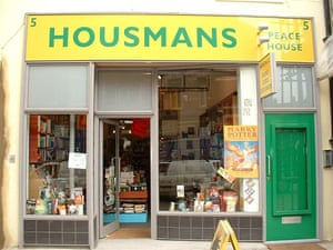 independent bookshops: Housmans