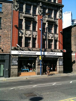 independent bookshops: Paramount Books in Manchester