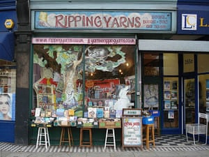 independent bookshops: Ripping Yarns