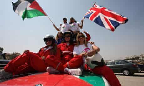 The Palestinian Speed Sisters racing team
