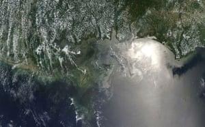 Satellite Eye:  Deepwater Horizon oil spill