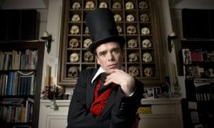 Sebastian Horsley at his home in Soho, London, Britain - Mar 2008
