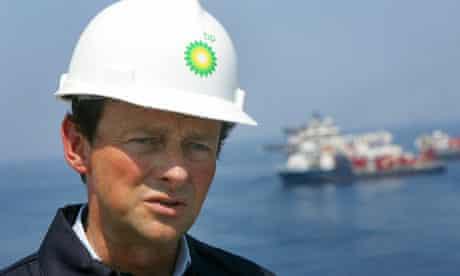 Tony Hayward, head of BP