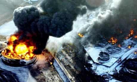 Buncefield oil fire