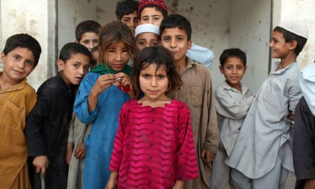 Child refugees in Peshawar