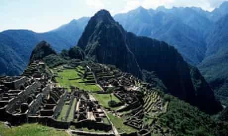 Machu Picchu helicopter ban