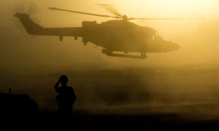 40 Commando's Bravo Company base in southern Helmand, Afghanistan