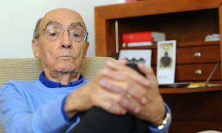 Portuguese writer Jose Saramago
