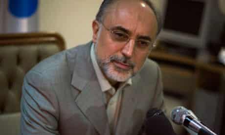 Ali Akbar Salehi, head of Iran's Atomic Energy Organisation,