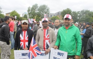 Tower Hamlets deo against English Defence League