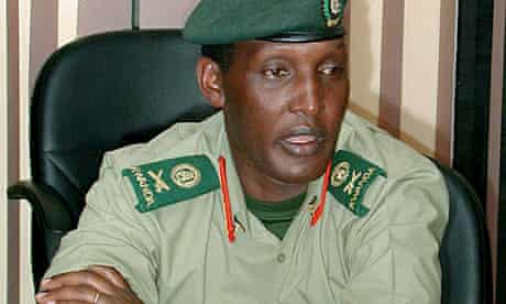 File photo of former Rwandan army chief Kayumba Nyamwasa