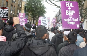 Tower Hamlets march against EDL