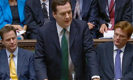 George Osborne delivers his emergency budget speech