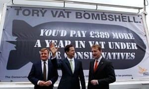 Liberal Democrat VAT poster