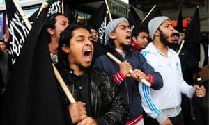 Army protest muslim