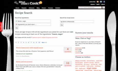 Open Platform: What Could I Cook