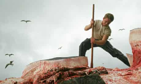 Butchering a Whale