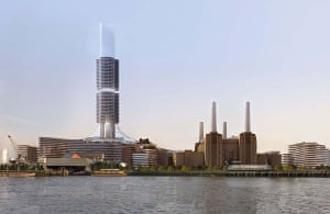 Battersea power station: 2008: Redevelopment plans for Battersea power station