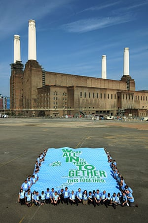 Battersea power station: 2009: The Conservatives launch their election manifesto at Battersea