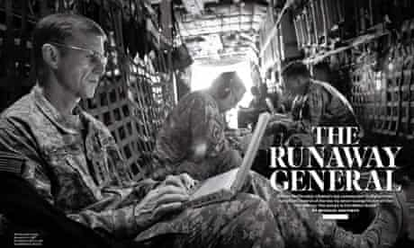 The Rolling Stone article that ended McChrystal's distinguished military career