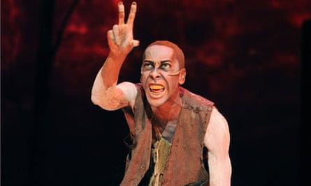 Ron Cephas Jones playing Caliban
