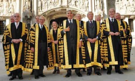 British Supreme Court and judges
