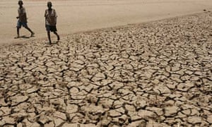 Kenyan pastoralists suffer from drought