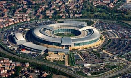 The GCHQ building in Cheltenham