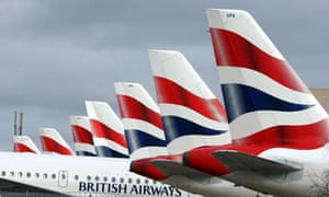 BA planes stuck in airport during strike in March