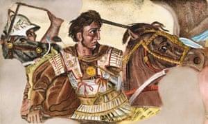 Alexander During Battle