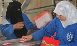 Alawda, factory making biscuits and wafers in Gaza