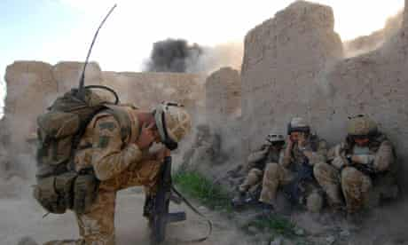 Operation Achilles in Sangin, Afghanistan