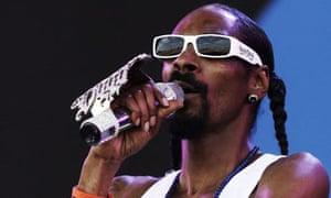 Snoop Dogg performs at Glastonbury