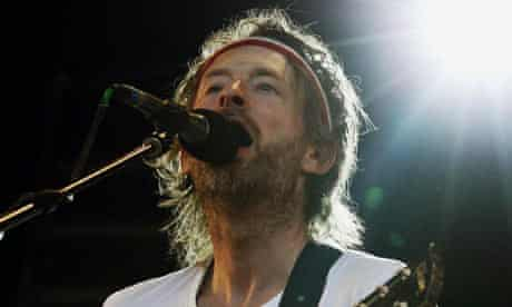 Thom Yorke plays a suprise gig at Glastonbury