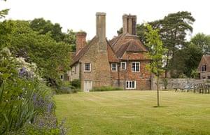 Hancox House: The Tudor house, Hancox, in Battle near Hastings