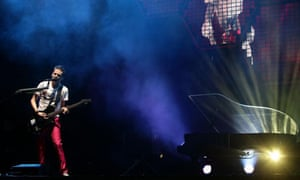 Muse perform at Glastonbury