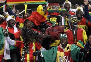 Knockout stages day 1: Ghana fans enjoy the atmosphere before kick-off