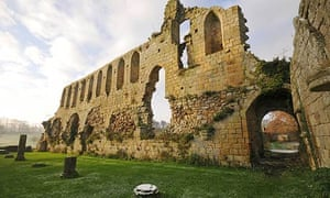 Ruins of Jervaulx Abbey, Wensleydale, Yorkshire