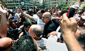 Mohamed ElBaradei protest Khaled Said