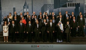 David Cameron at G8: World leaders pose for a group photo during the G8 summit, 27 June