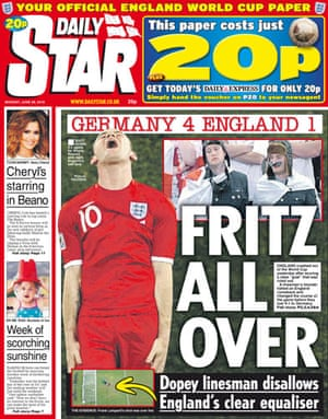 World Cup front pages: Daily Star