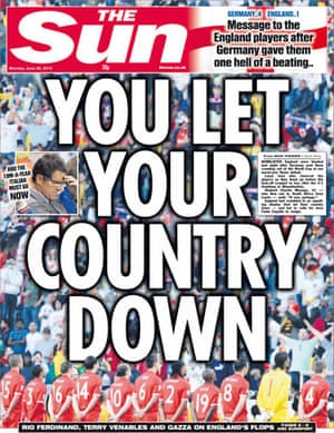 World Cup front pages: The Sun